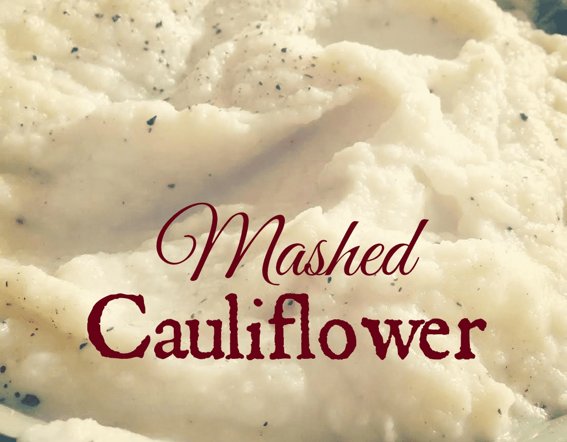 Mashed Cauliflower 3