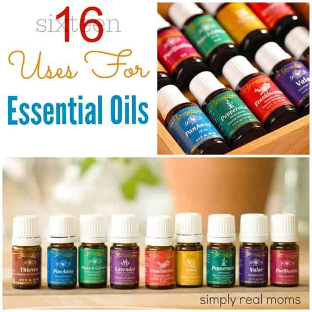 16 uses for Essential Oils