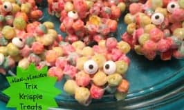 Mini-Monster Trix Krispie Treats