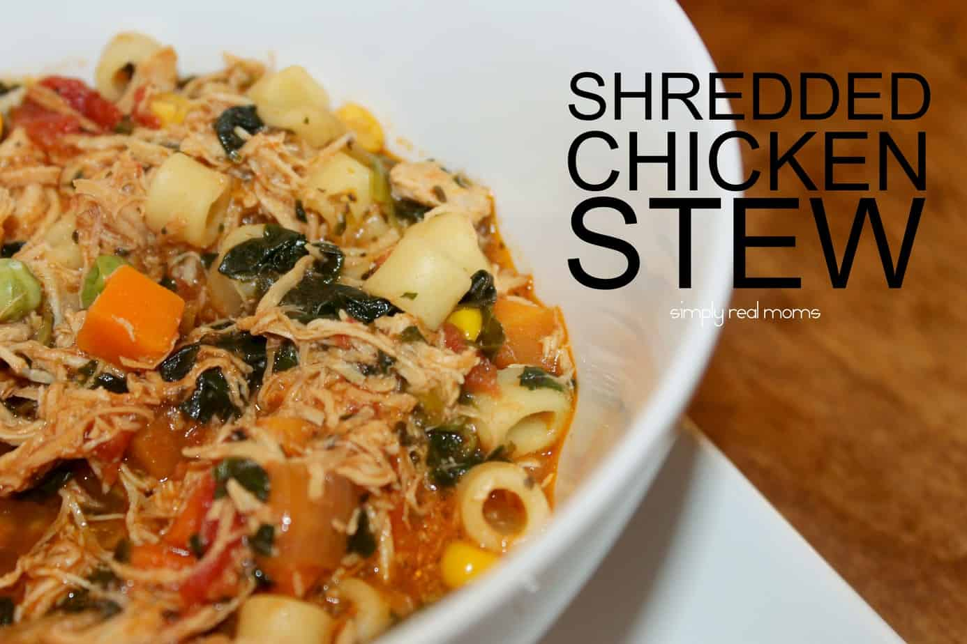 Shredded Chicken Stew  2