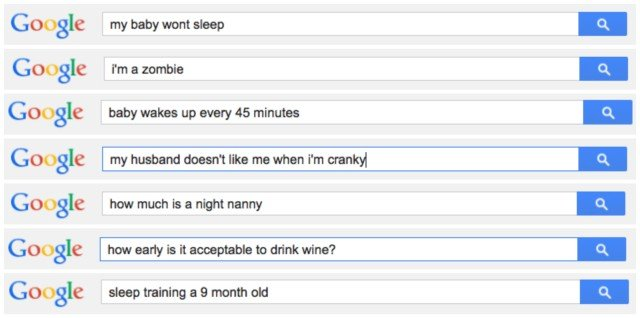 Sleep Training Google Searches