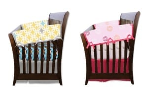 Babee Talk Crib Rail Covers