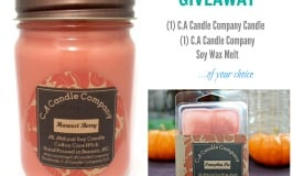 Candle giveaway