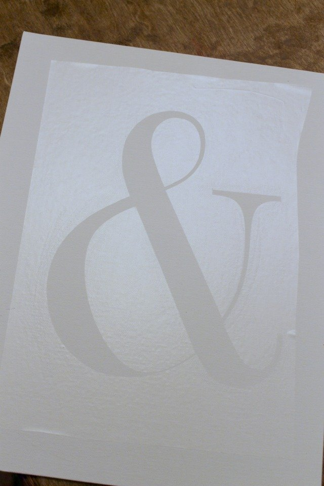 DIY Ampersand1