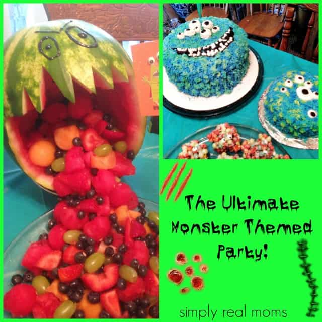 The Ultimate Monster Themed Party!