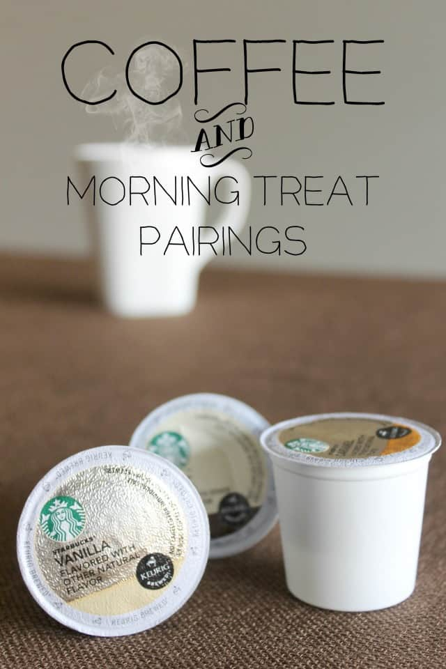 Coffee and Morning Treat Pairings