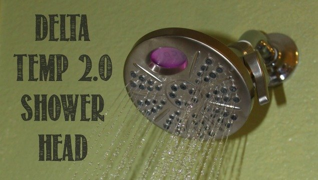 Delta Temp2O Technology Showerhead (AND GIVEAWAY) 2