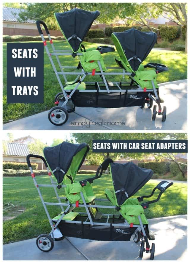 Joovy Big Caboose Seat Options
