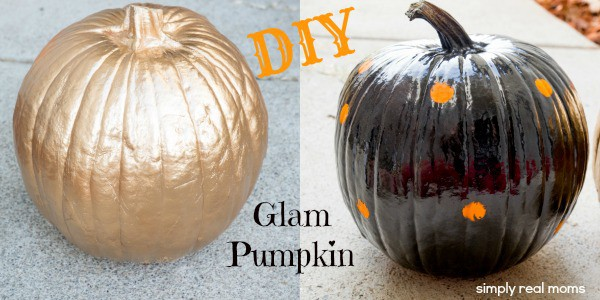 DIY Glam Pumpkin 1