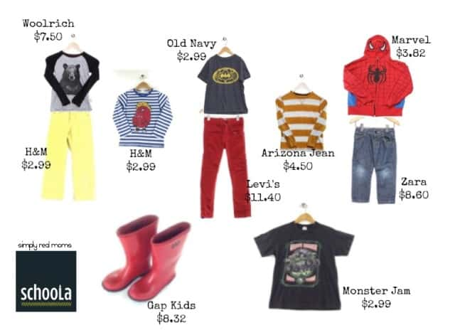 Schoola-Buy used clothing to benefit your schools!