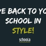 Schoola: Give Back To Your School In Style!