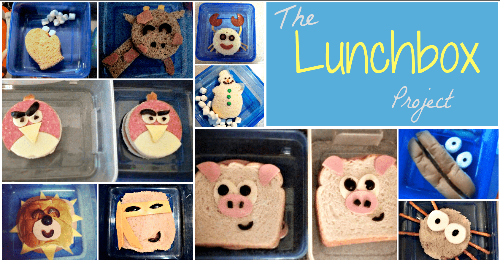 10 Sandwich Designs for Your Child's Lunch 12