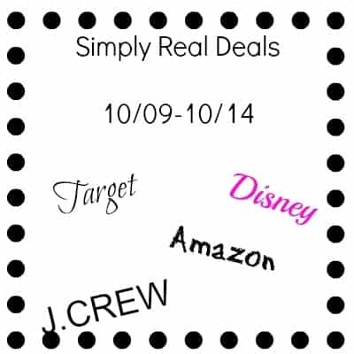 Simply Real Deals 10/09/2014- 10/14/2014 12