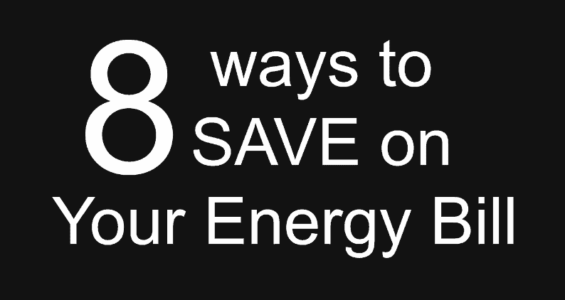 8 Ways to Save on Your Energy Bill 3