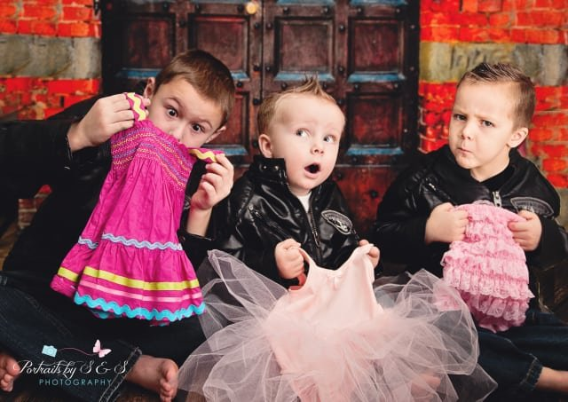 Boys' with Pink Gender Reveal