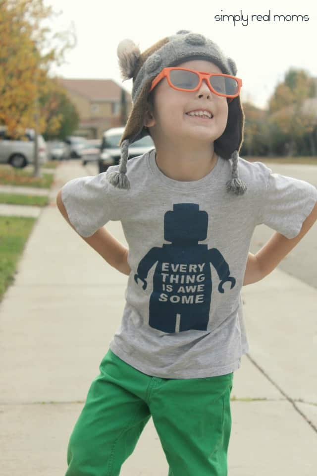 DIY Everything is Awesome Shirt2