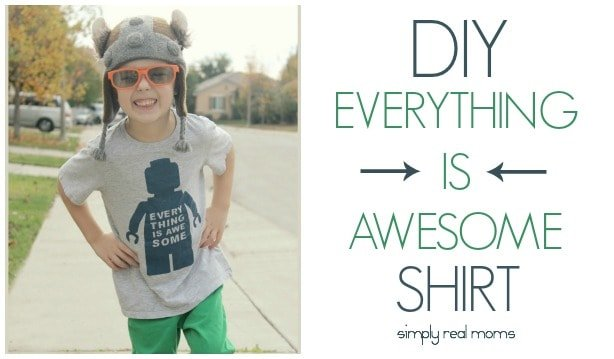 Simply Made: Everything Is Awesome Lego Movie T-Shirt 10