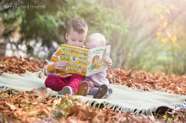 Pregnancy Announcement with Book