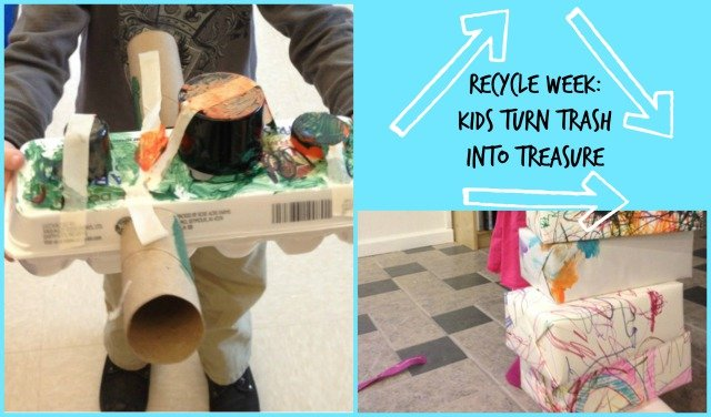 Recycle Week Kids Turn Trash Into Treasure