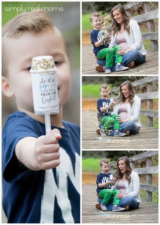 Thimblepress Push Pop Gender Reveal