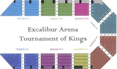 tournament of kings seating