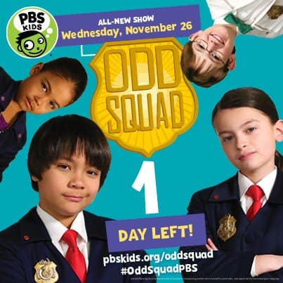 ODD SQUAD Premires Tomorrow on PBS Kids