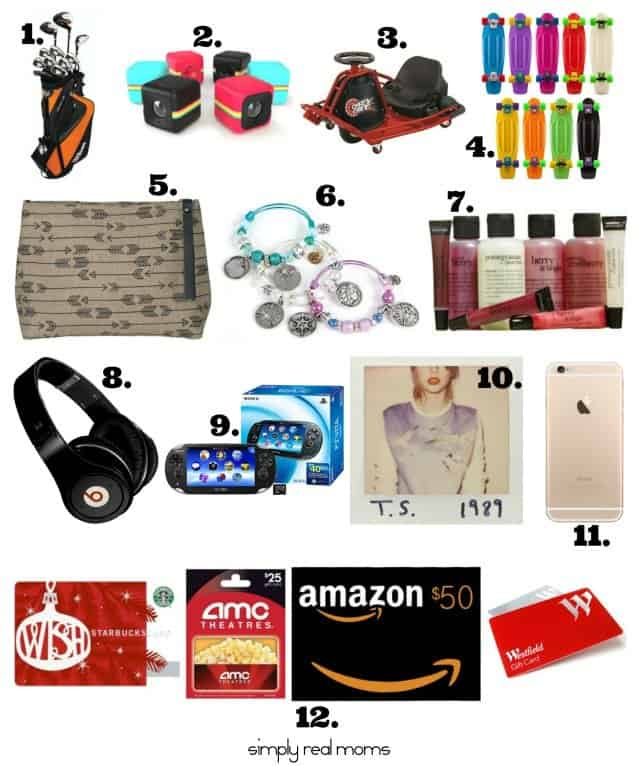 2016 christmas gift guide: what to give teen kids.
