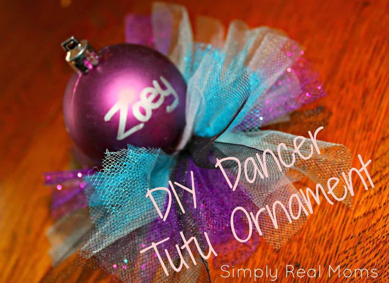 DIY Dancer Tutu Ornament 1