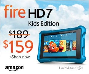 Crazy Deal- Fire HD 7 Kids Edition!