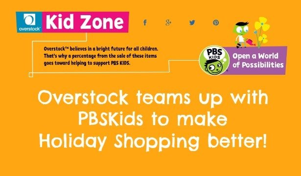 Overstock.com Teams Up With PBSKids (GIVEAWAY) 6