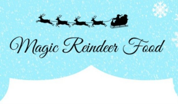 Magic Reindeer Food Free Printable 3
