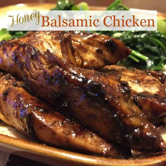 Honey Balsamic Chicken - Simply Real Moms