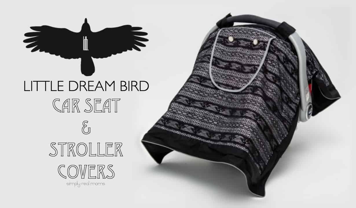 Little Dream Bird Car Seat and Stroller Covers 4