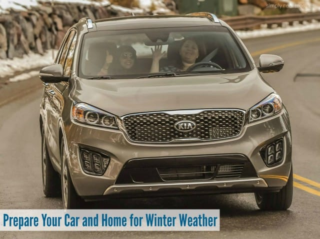Prepare Your Car and Home for Winter Weather