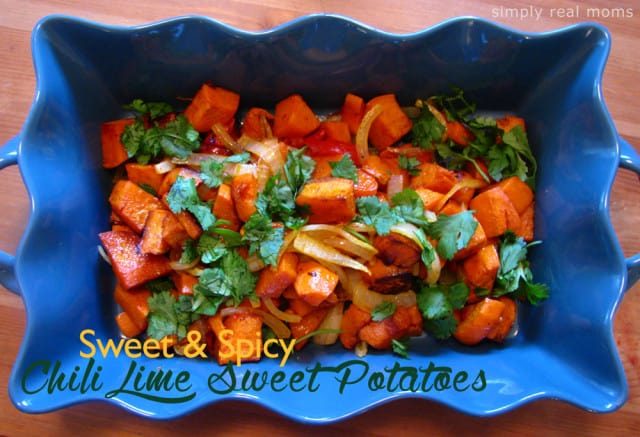 Sweet & Spicy Chili Lime Sweet Potatoes