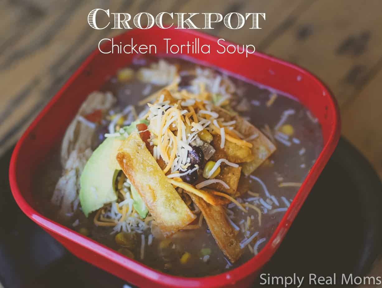 Crockpot Chicken Tortilla Soup 1