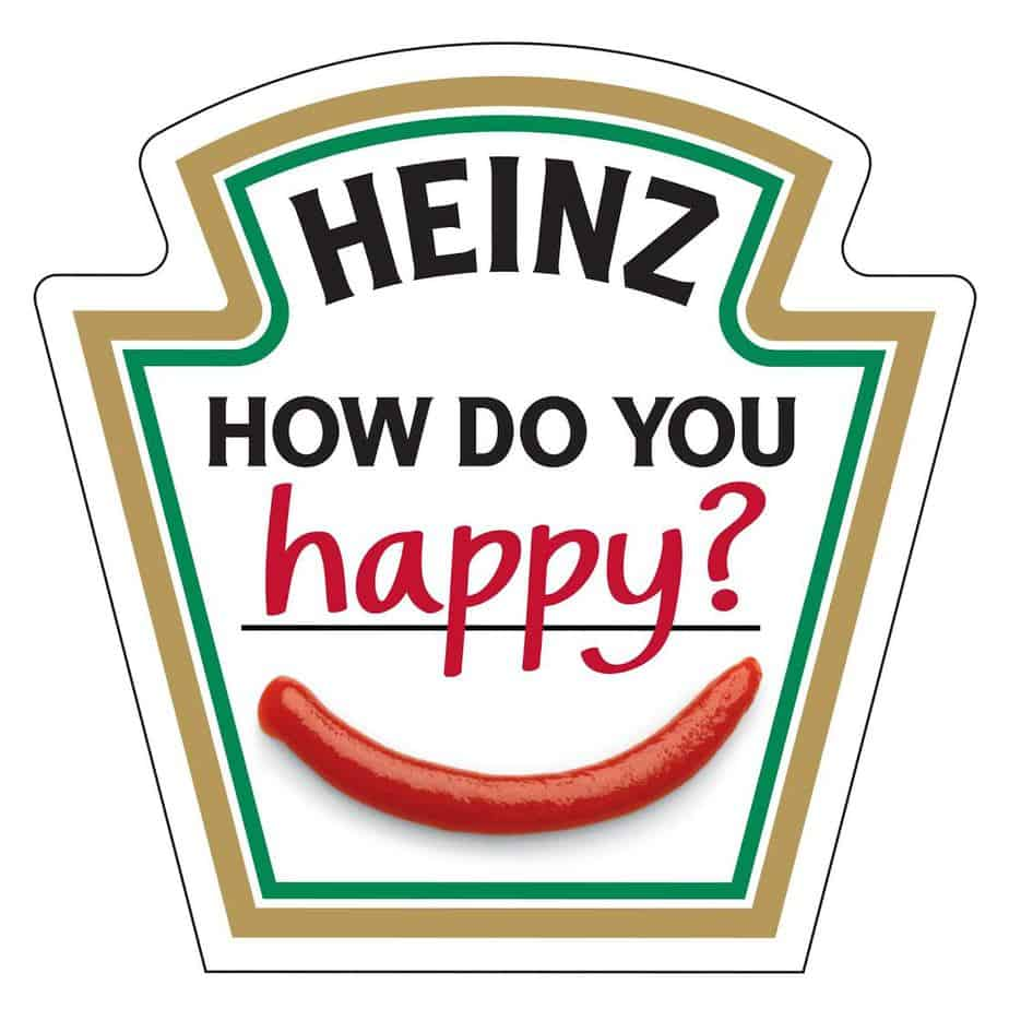"Heinz: ""How Do You Happy?"" Contest 3"