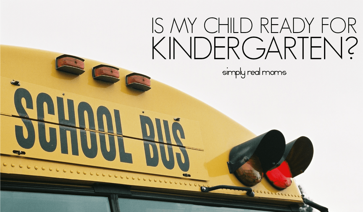 Is My Child Ready For Kindergarten? 2