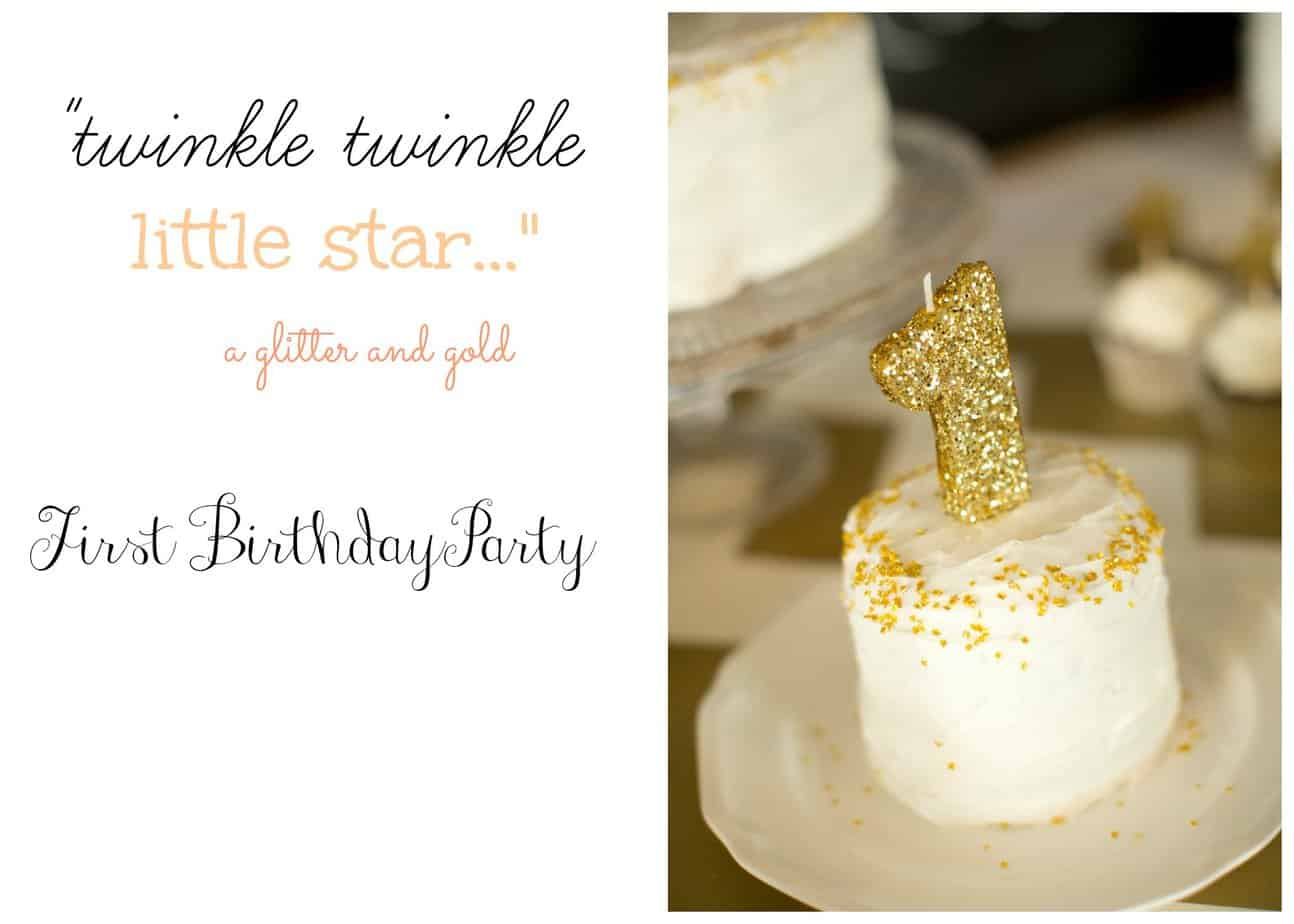 Twinkle Little Star First Birthday Party