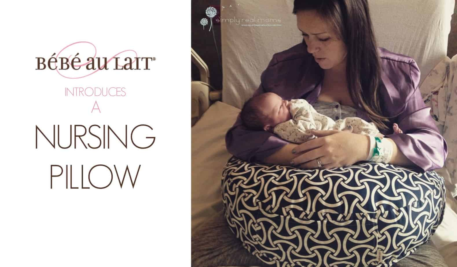 Bebe Au Lait Introduces A Nursing Pillow 6