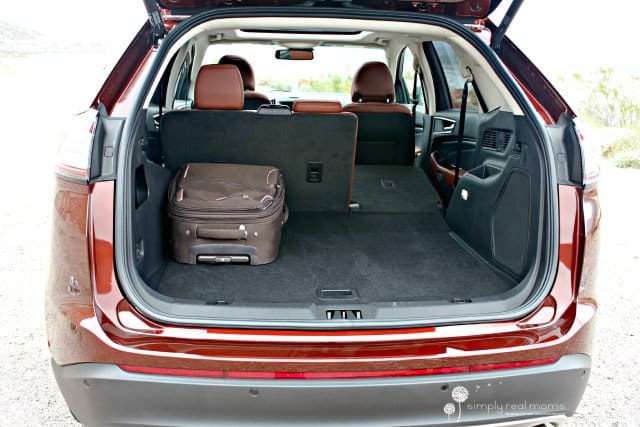 cargo area, 2015 Ford Edge