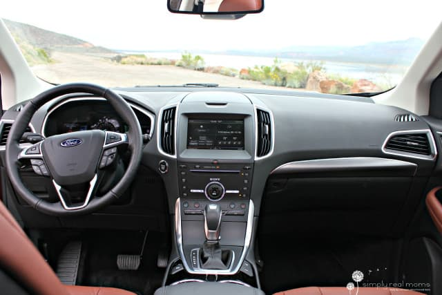 dashboard, 2015 Ford Edge