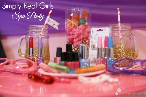 Simply Real Girls Spa Party 52