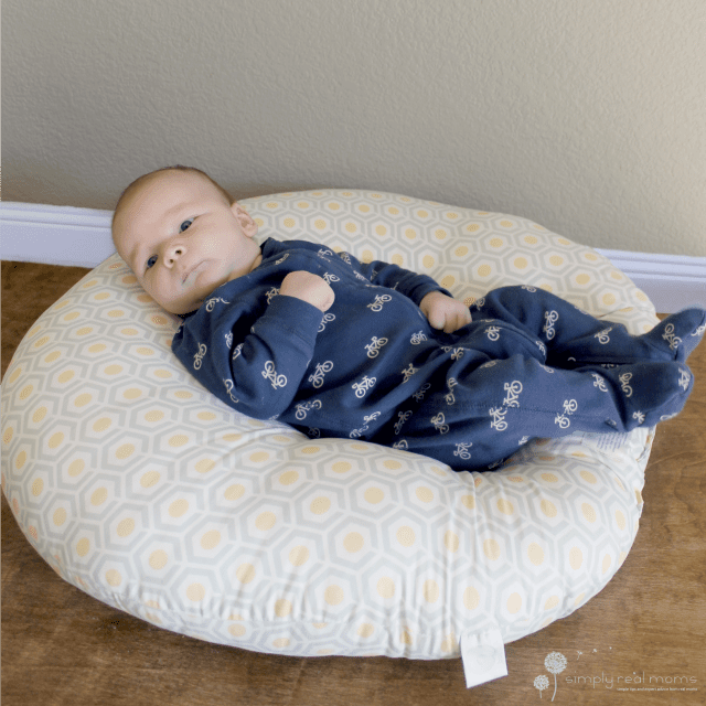 The Boppy Newborn Lounger Simply Real Moms
