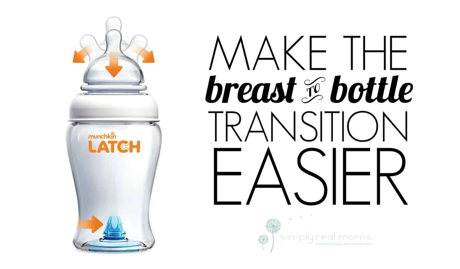Munchkin LATCH Makes Breast to Bottle Transition Smooth 4