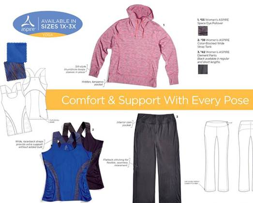 Plus-Size workout clothes