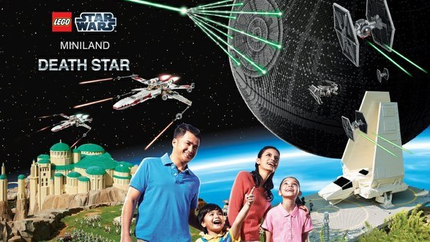 Legoland's New Star Wars Miniland Death Star 3