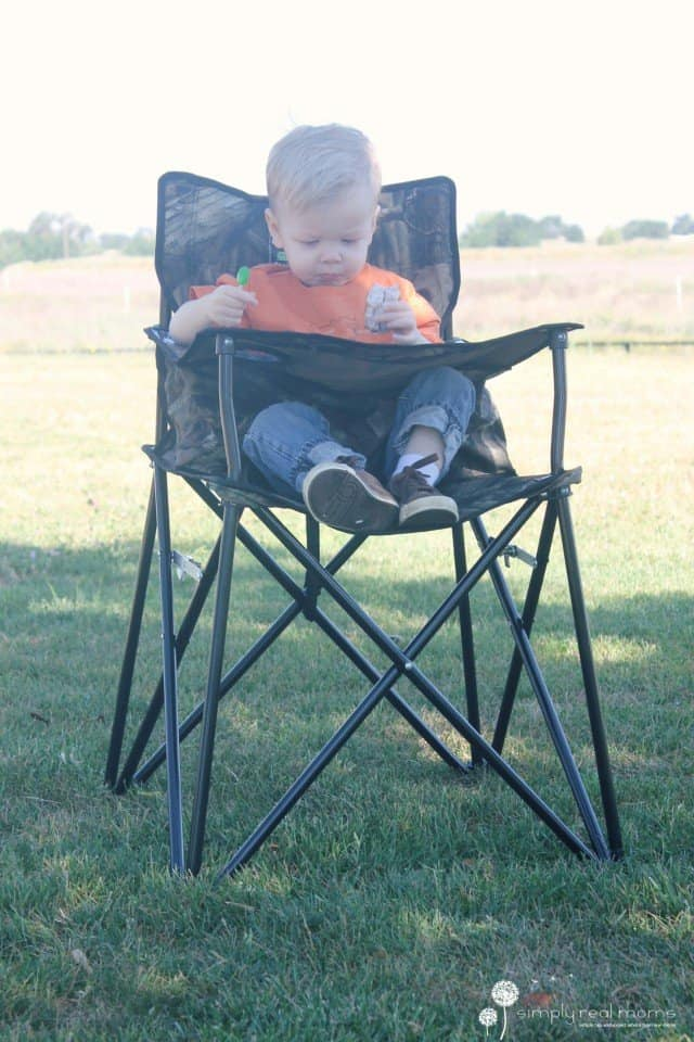 Camo Portable High Chair