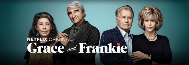 Grace and Frankie on Netflix