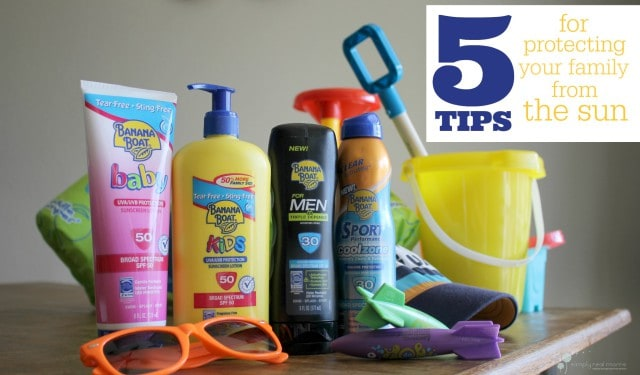 5 Tips for Protecting Your Family From The Sun